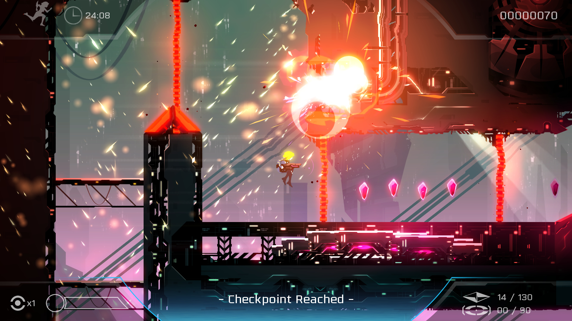 Velocity 2X pushes the Vita hardware to achieve all these visual effects at 60fps.