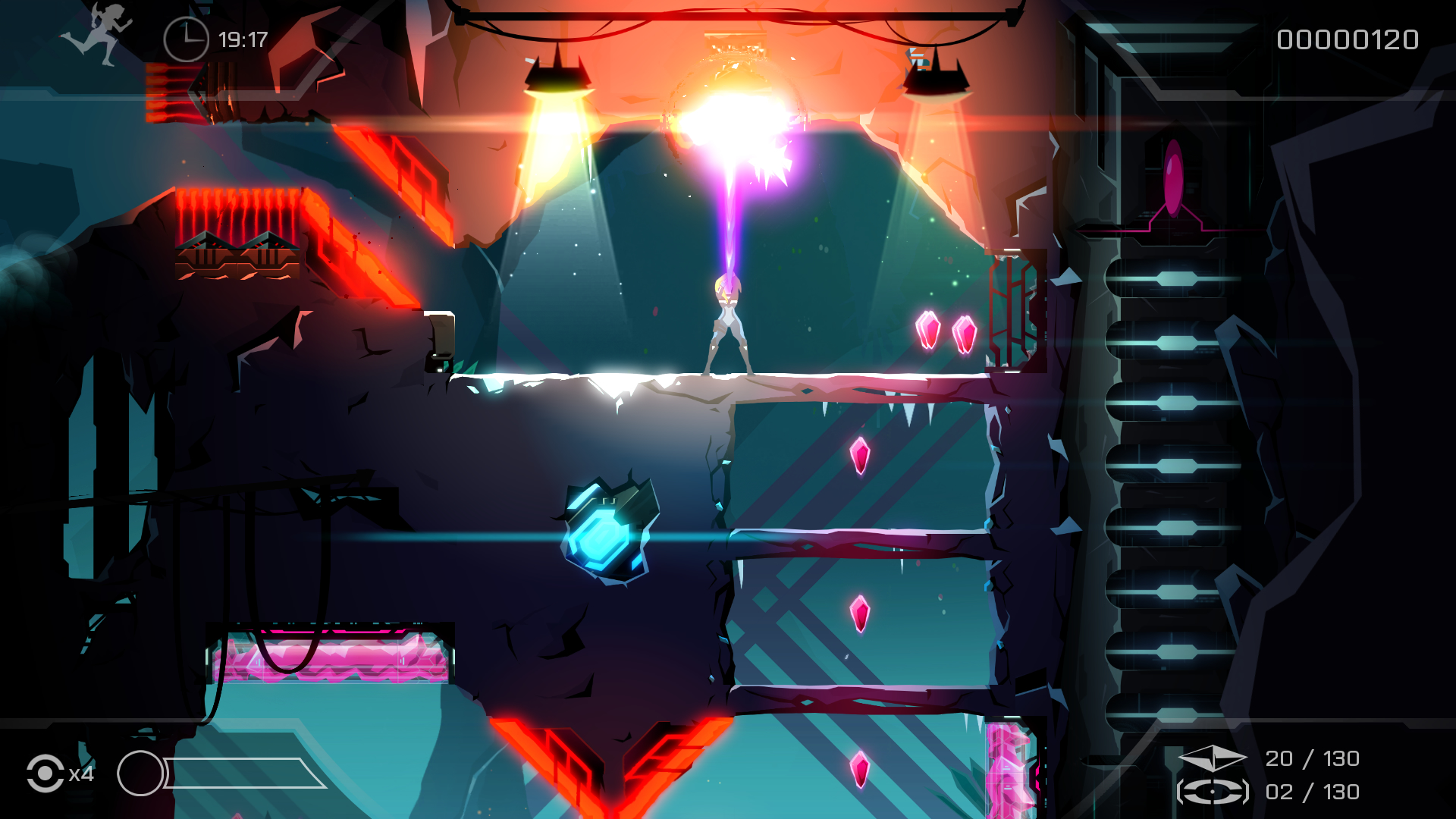 Mood and atmosphere is given the utmost importance in Velocity 2X.