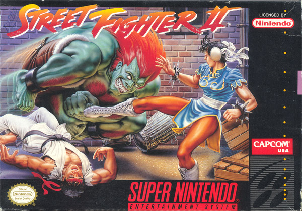 Street Fighter II was 'my subject' at school.